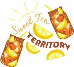 Sweet Tea Territory print art