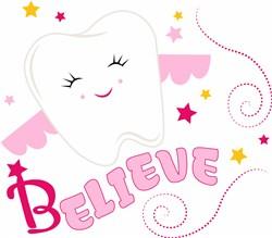 Tooth Fairy Believe print art