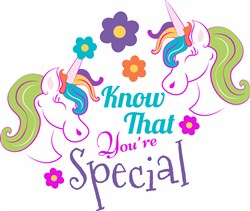 Unicorn Know That You re Special print art