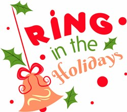 Bell Ornament Ring In The Holidays print art