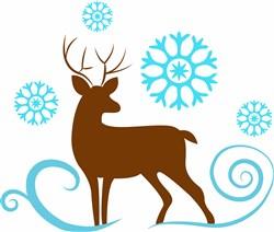 Deer Base print art