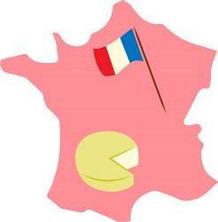 France Base print art
