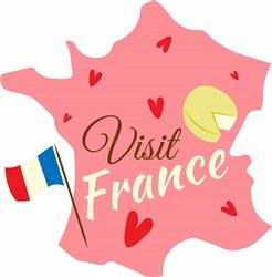 Visit France print art