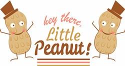 Peant Hey There Little Peanut print art