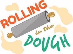 Rolling Pin Rolling In The Dough print art