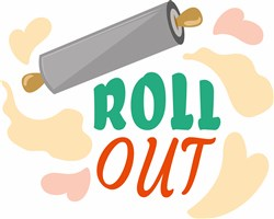 Rolling Pin Roll Out print art