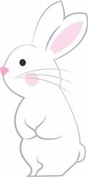 Bunny Base print art