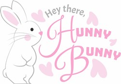 Hey There Hunny Bunny print art