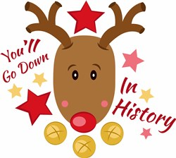 Rudolph You ll Go Down In History print art