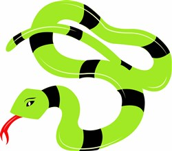 Snake Base print art