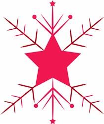 Snowflake Base print art