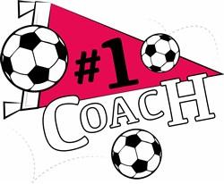 Soccer 1 Coach print art