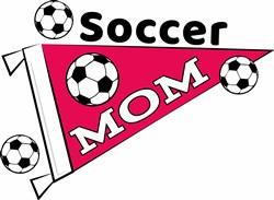 Soccer Mom print art