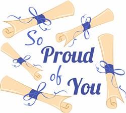Diploma So Proud Of You print art