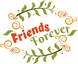 Floral Friends Forever print art