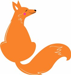 Fox print art