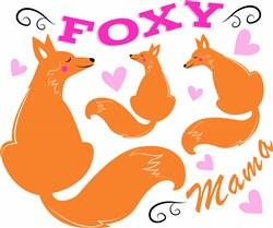 Foxy Mama print art