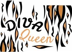 Diva Queen print art