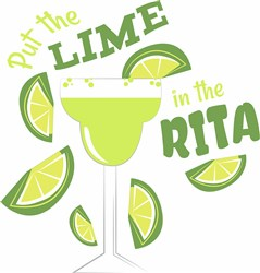 Lime In The Rita print art