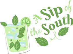 Sip Of The South print art