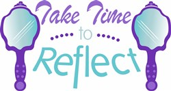 Time To Reflect print art