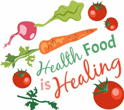 Health Food print art