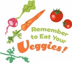 Eat Your Veggies print art