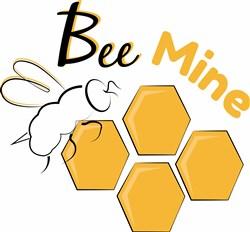 Bee Mine print art