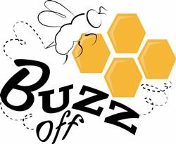 Buzz Off print art