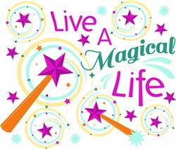 Magical Life print art