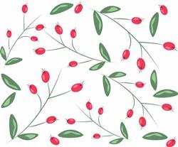 Berry Branches print art
