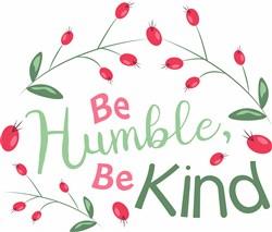 Be Humble print art