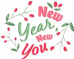 New Year New You print art