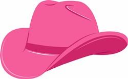 Cowgirl Hat print art
