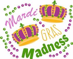 Mardi Gras Madness print art