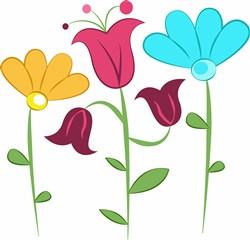 Flower Blooms print art