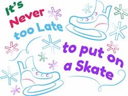 Put On A Skate print art