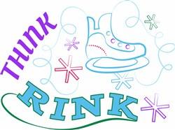 Think Rink print art