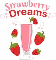 Strawberry Dreams print art
