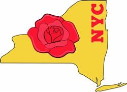 NYC Rose print art