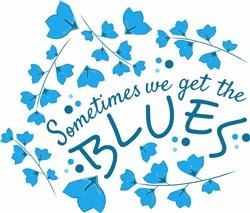 Get The Blues print art