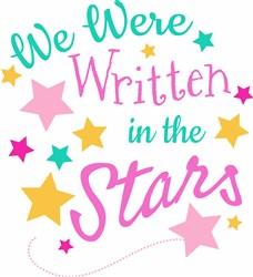 Written In The Stars print art