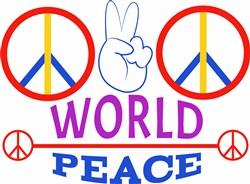 World Peace print art