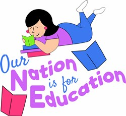 Nation For Education print art
