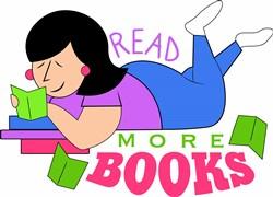 Read More Books print art