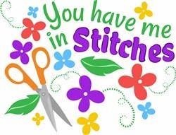 In Stitches print art
