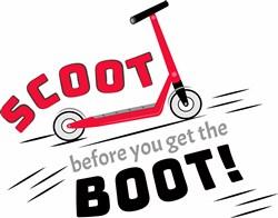 Get The Boot print art