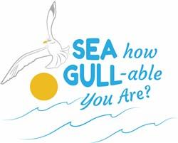 How Gull-able print art