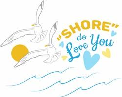 Shore Do Love You print art