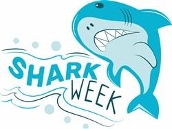 Shark Week print art